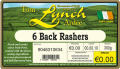 D312-TOM-LYNCH-6-Back-Rashers-butcher-thermal-print-label-supplier-Ireland