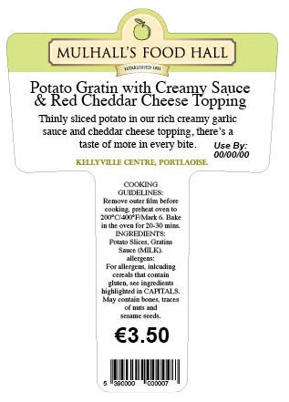 MULHALLS-food-hall-supermarket-deli-shop-thermal-print-label-supplier-Ireland